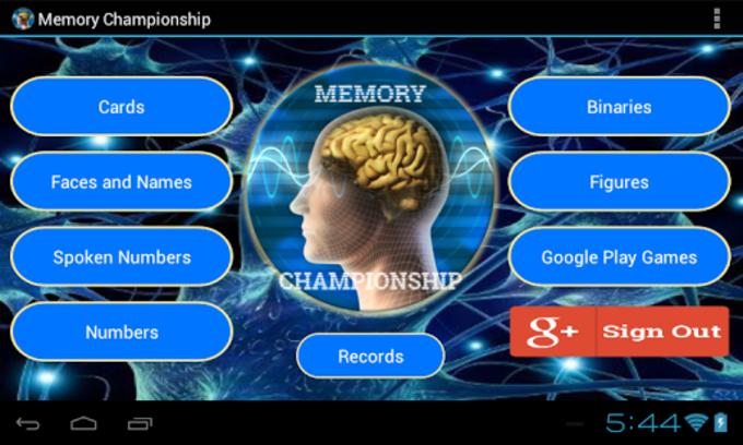 Campeonato de Memoria