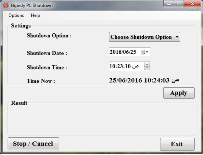 Elgindy PC Shutdown