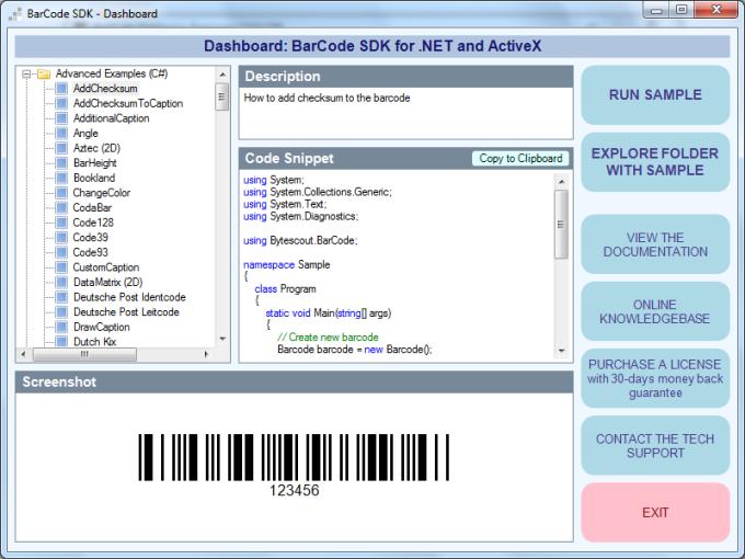 Bytescout BarCode Generator SDK