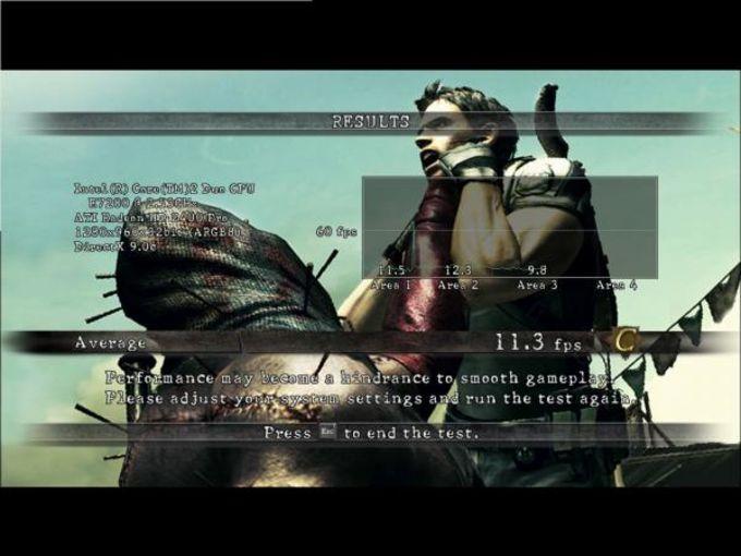 Resident Evil 5 Benchmark