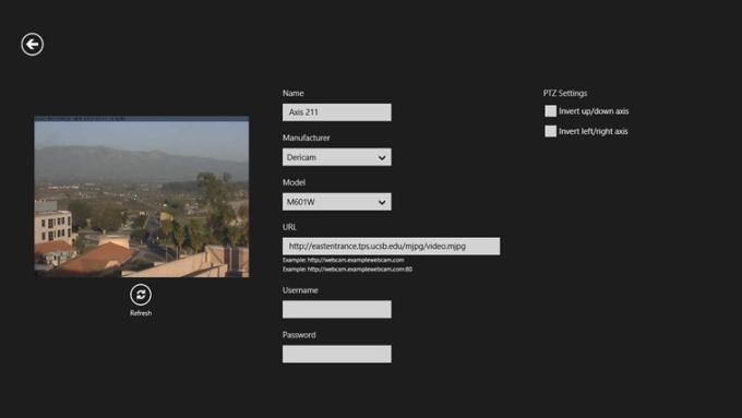IP CamView for Windows 10