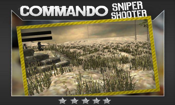 Commando Sniper Shooter 3D