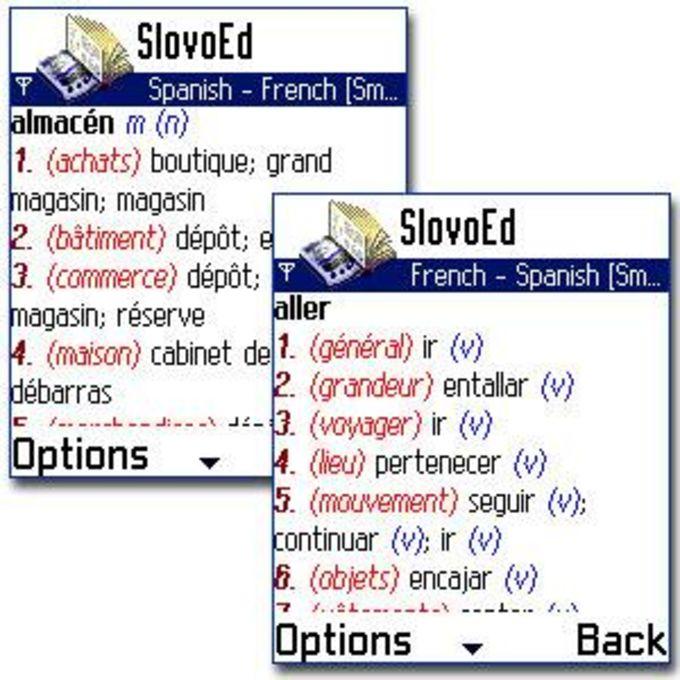SlovoEd 7650: French-Spanish