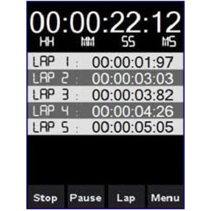 Touch StopWatch