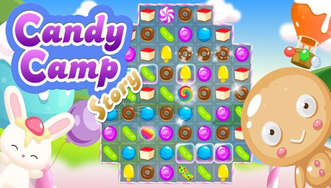 Candy Camp Story : Sweet Match-3