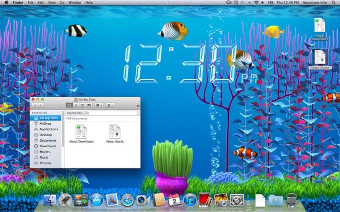 Aquarium Screensaver Lite