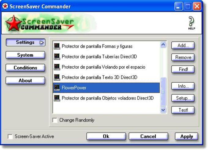 ScreenSaver Commander
