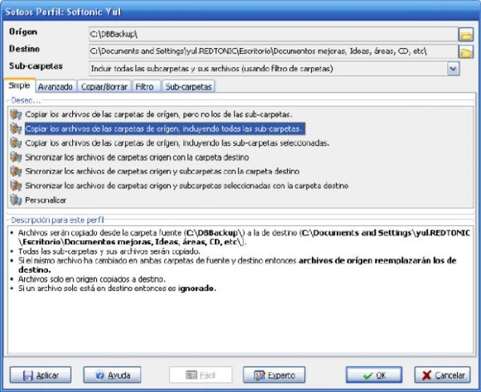 SyncBack Freeware