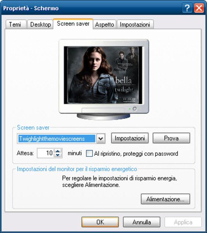 Twilight The Movie Screensaver