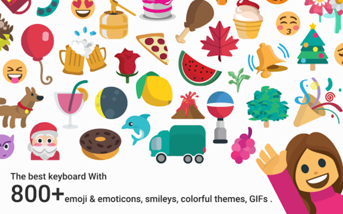 Thanksgiving Emoji Keyboard
