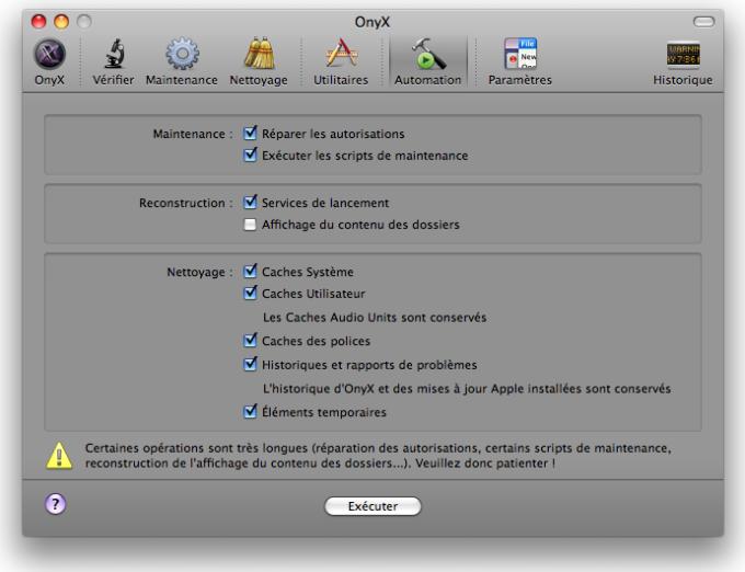 10.6.8 OS ONYX X TÉLÉCHARGER POUR MAC