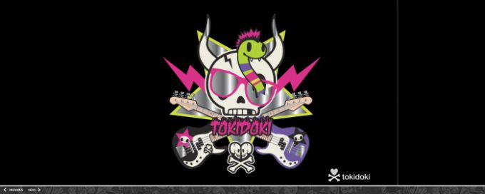 tokidoki screensaver