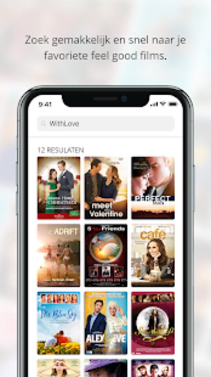 WithLove: de romantische streaming app