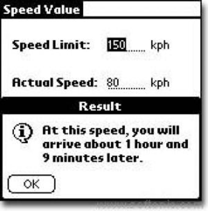 Speed Value