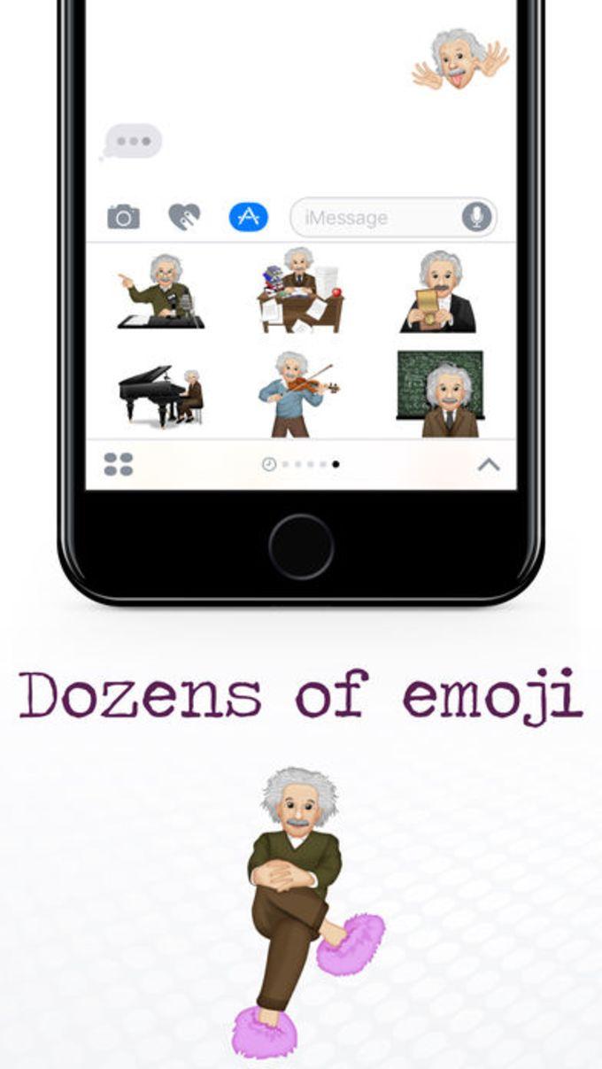 EinsteinMoji ™ by Albert Einstein