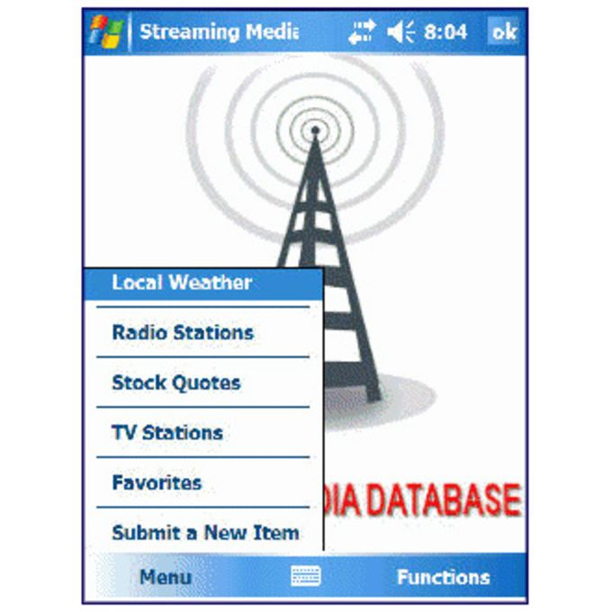 Streaming Media Database