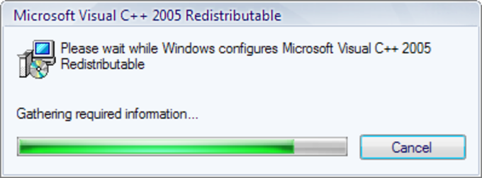 Microsoft Visual C++ 2005 Redistributable Package