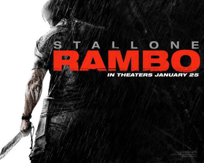 Fondo de escritorio: Rambo IV (1)