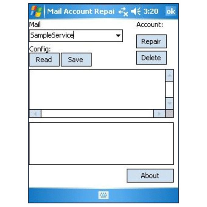 Mail Account Repair