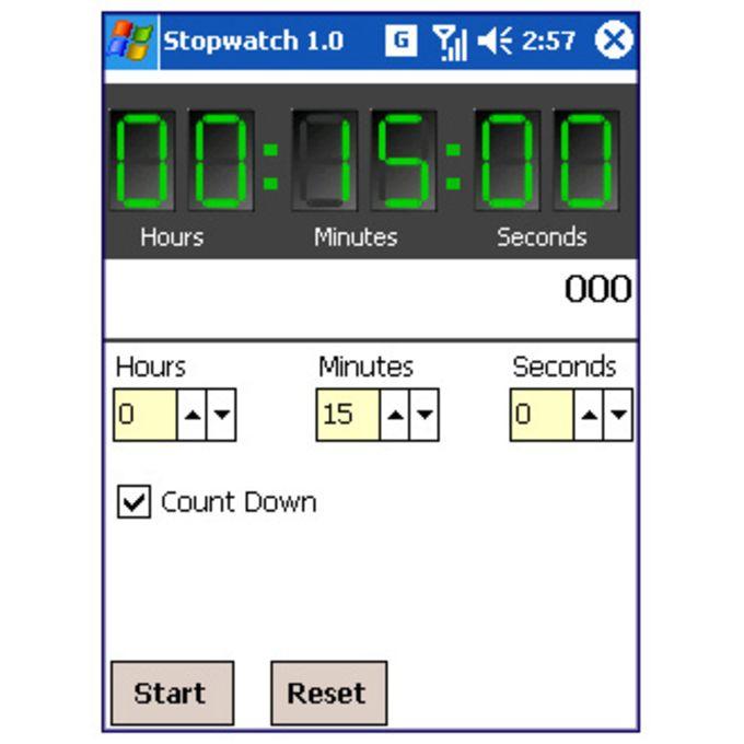 AvantVision Stopwatch