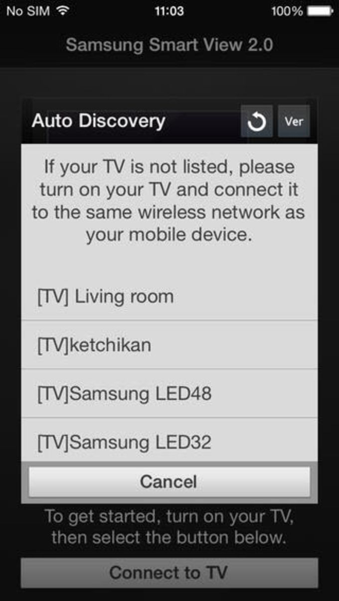 Samsung SmartView 2.0