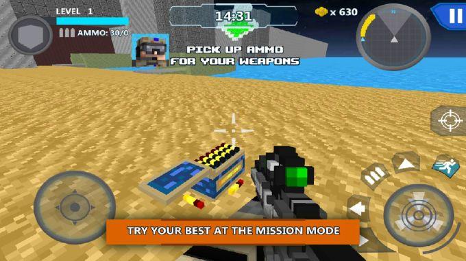 Cube Wars Battle Survival