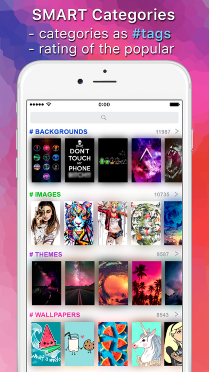 Top Chart of Wallpapers & Hot Backgrounds App