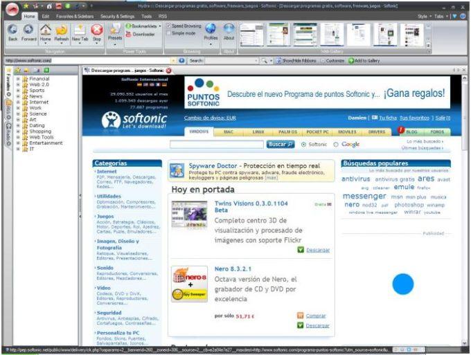 Hydra Browser