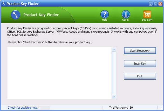 Product Key Finder