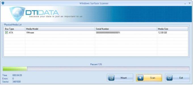 Windows Surface Scanner
