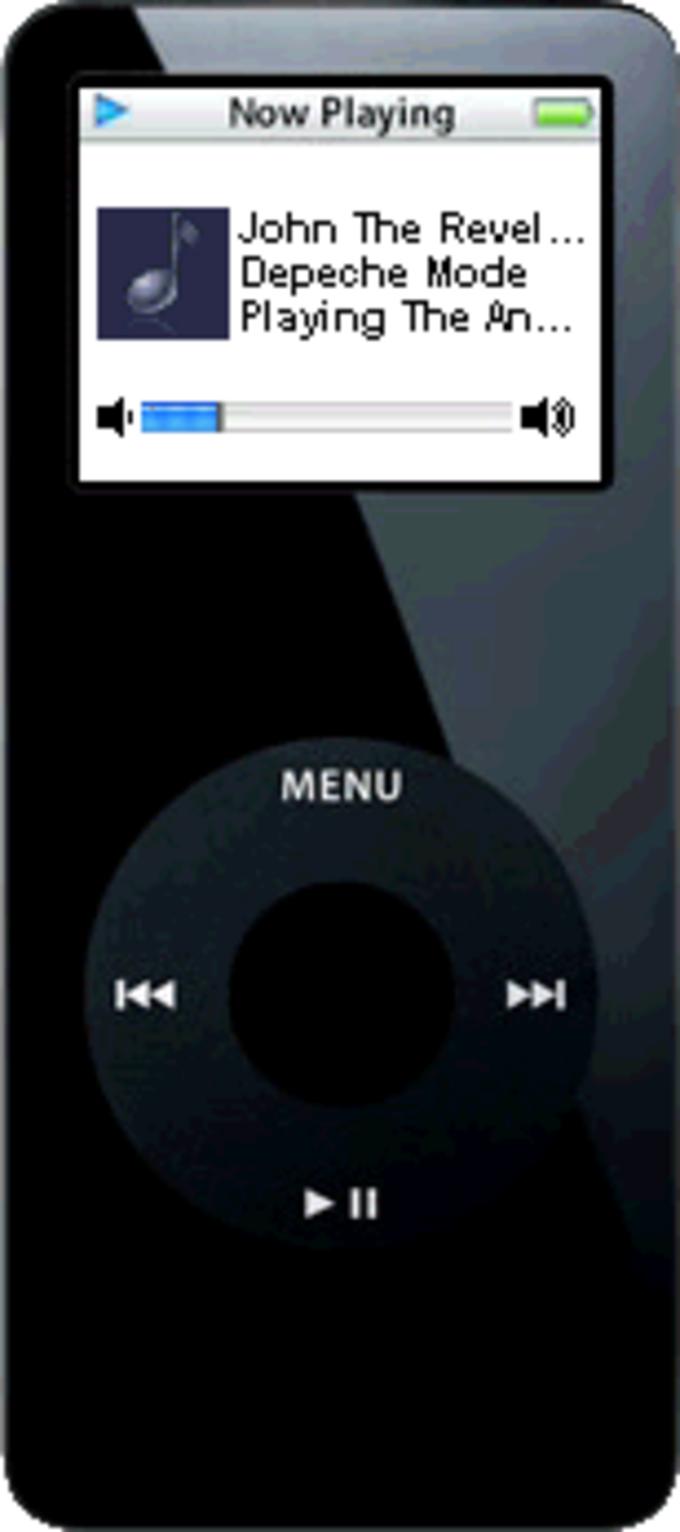 iPod Theme for Windows Media Player