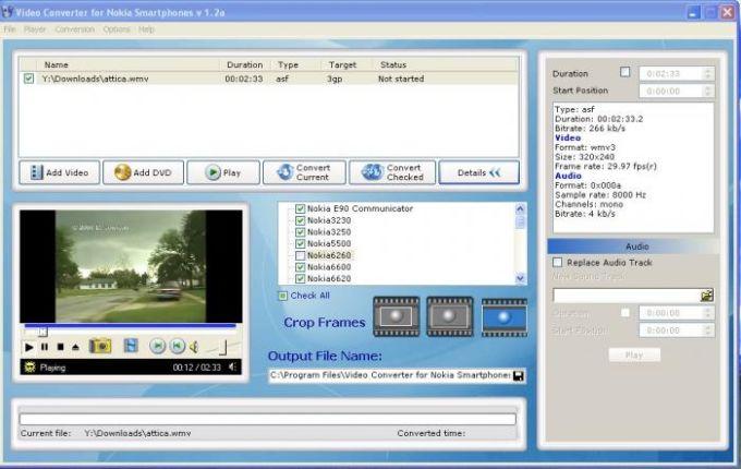 Nokia Video Converter