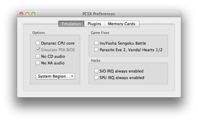 PCSX-Reloaded