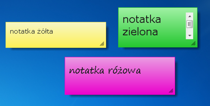 7 Sticky Notes
