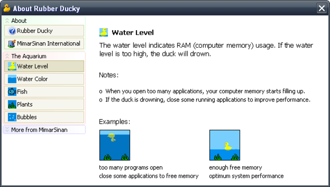 Rubber Ducky System Monitor