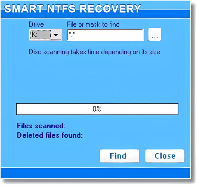 Smart NTFS Recovery