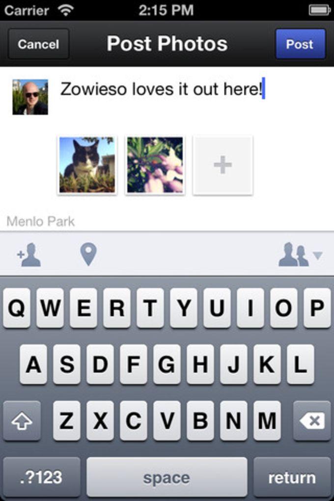 C mera do facebook para iphone download for Facebook camera