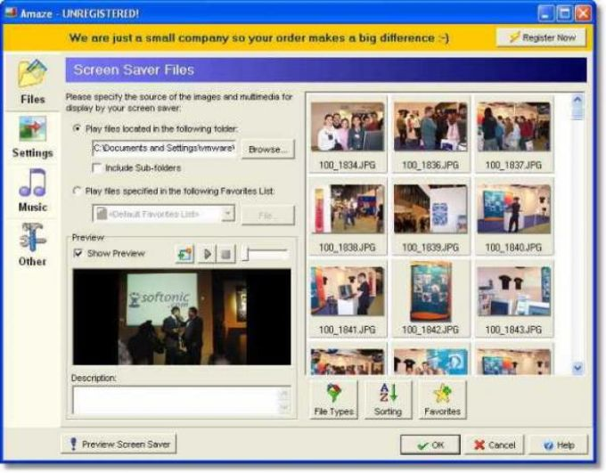 Amaze Screen Saver