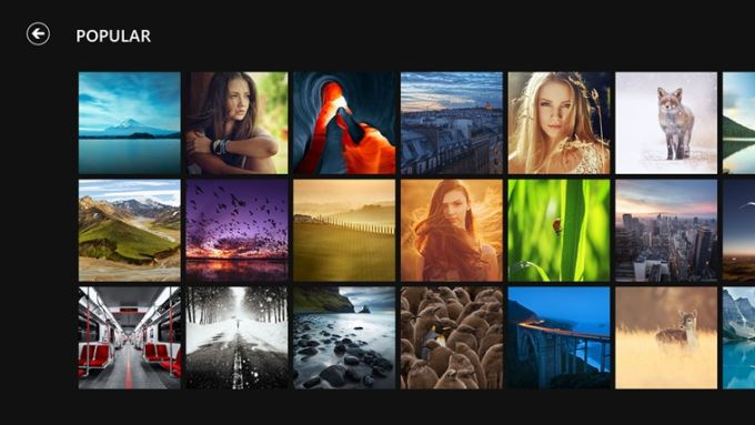500px for Windows 10