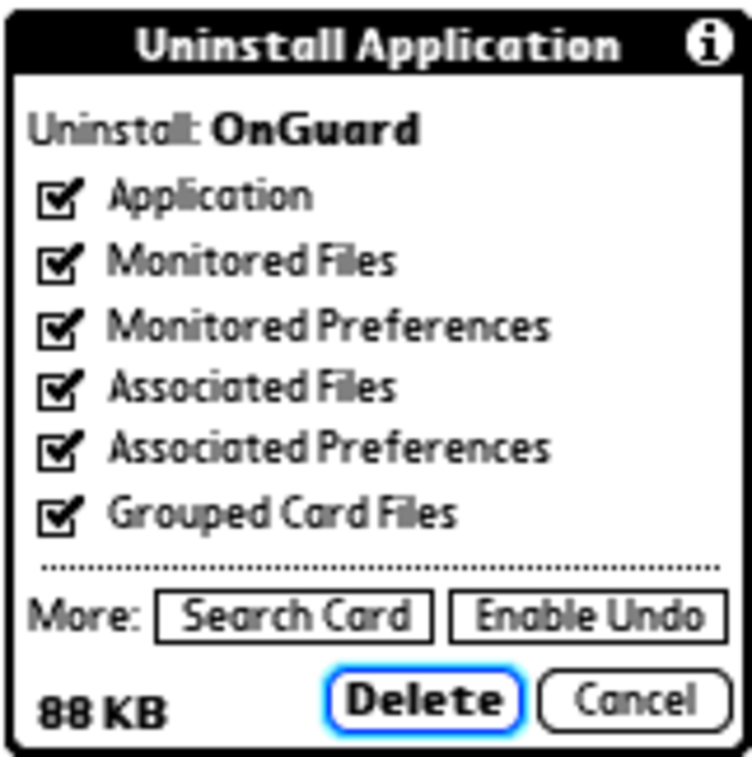 Uninstall Manager