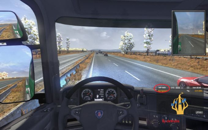 Euro Truck Simulator 2: New Scania Engine