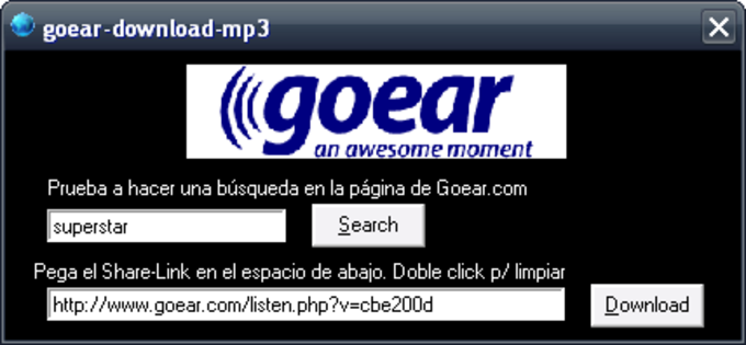 GoEar Download MP3