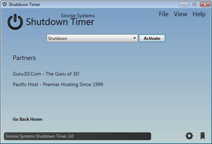 Sinvise Shutdown Timer Portable