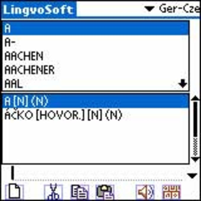 LingvoSoft Dictionary 2006 Deutsch-Tschechisch