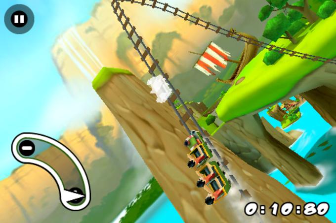Jurassic 3D Rollercoaster Rush