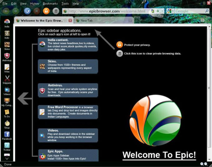 Epic Browser