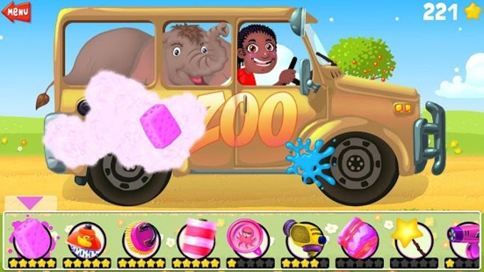 A Funny Car Wash Game