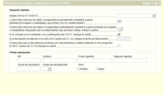 Renta 2013 (Modelo PADRE)