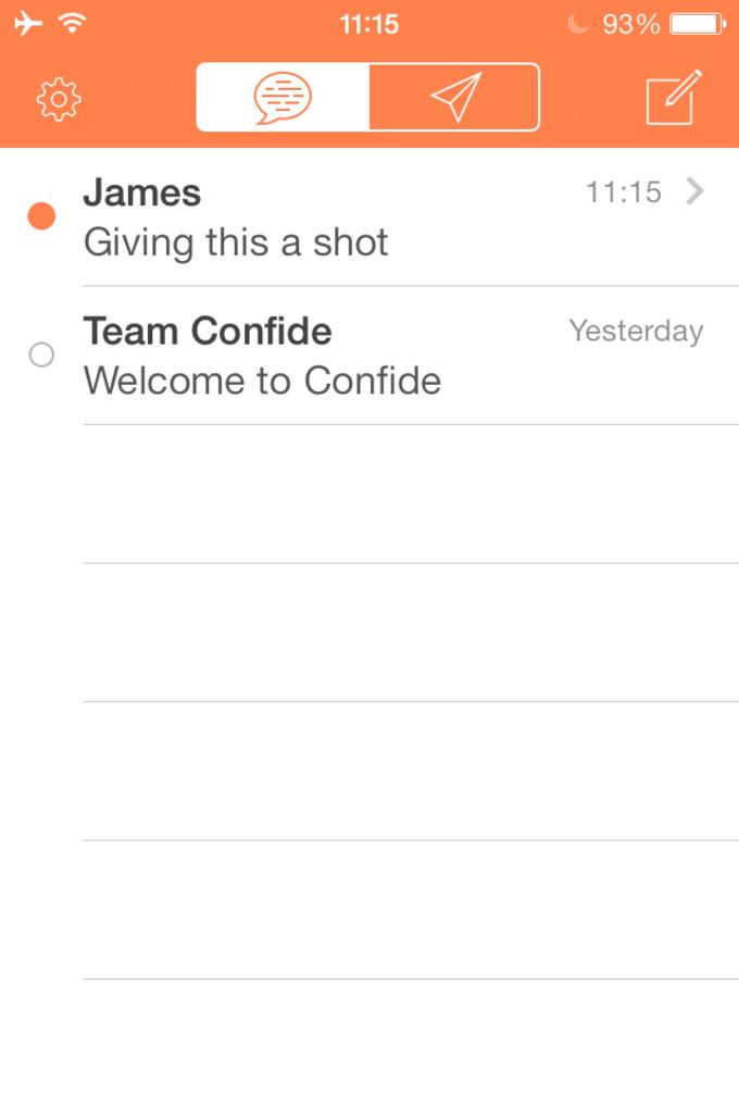 Confide