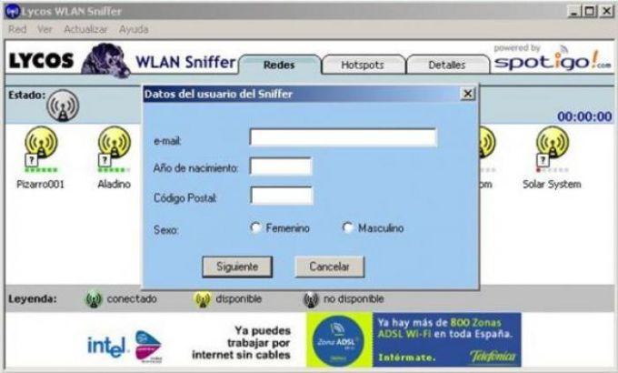 Lycos WLAN Sniffer